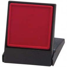 Fortress Flat Insert Medal Box Red Takes 40/50mm Medal