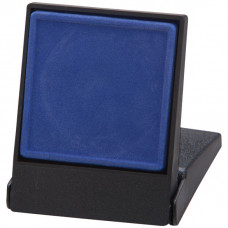 Fortress Flat Insert Medal Box Blue Takes 40/50mm Medal