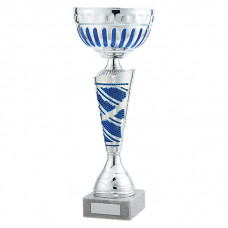 Charleston Cup Silver & Blue 305mm