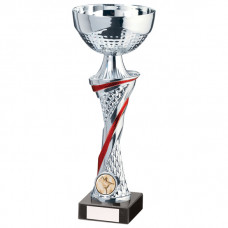Dominion Cup Silver & Red 255mm