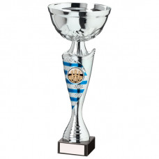 Commander Cup Silver & Blue 240mm