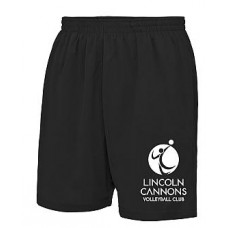 Cannons Black Shorts