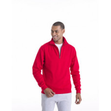 Sophomore 1/4 Zip Sweat from JUST HOODS BY AWDIS